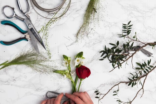 女性憧れの職業フラワーデザイナーの魅力とその仕事内容