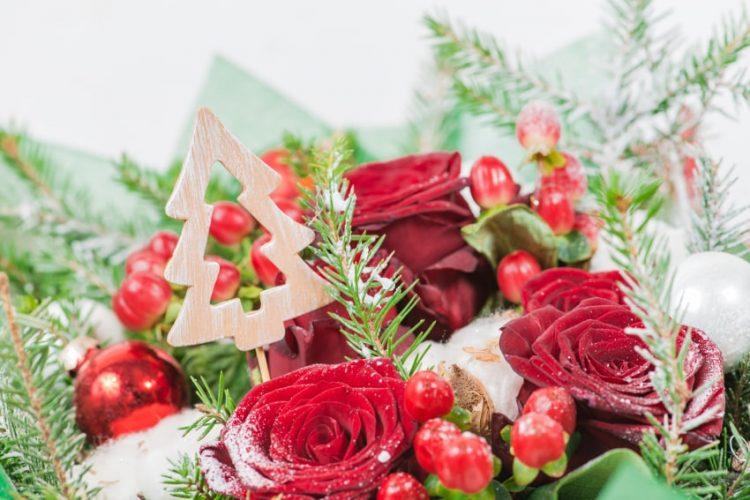 クリスマスにはフラワーギフトを飾ろう!花で楽しむ雰囲気づくり