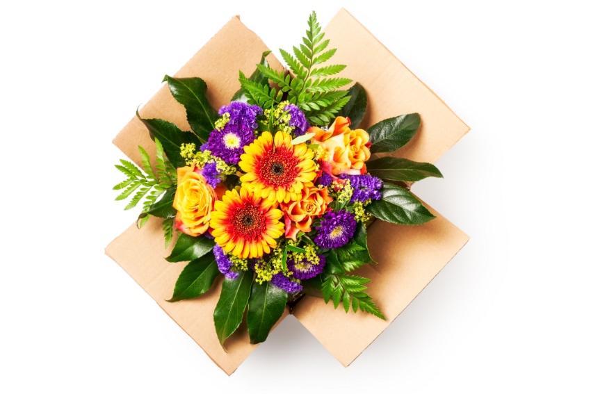 通販の花束の特徴