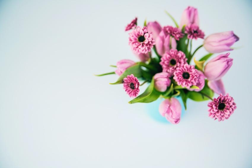 相手の好きな色や好きな花をリサーチ