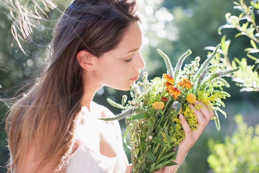 花が五感にもたらす効果とは