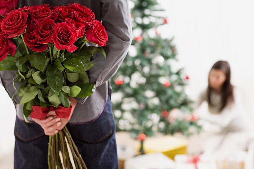 クリスマスに花を贈る意味とは