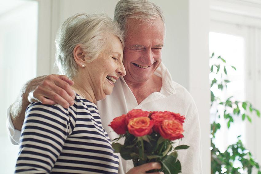 花束を贈る目的を伝える