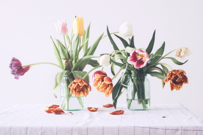 花がうまくまとまらないときには?