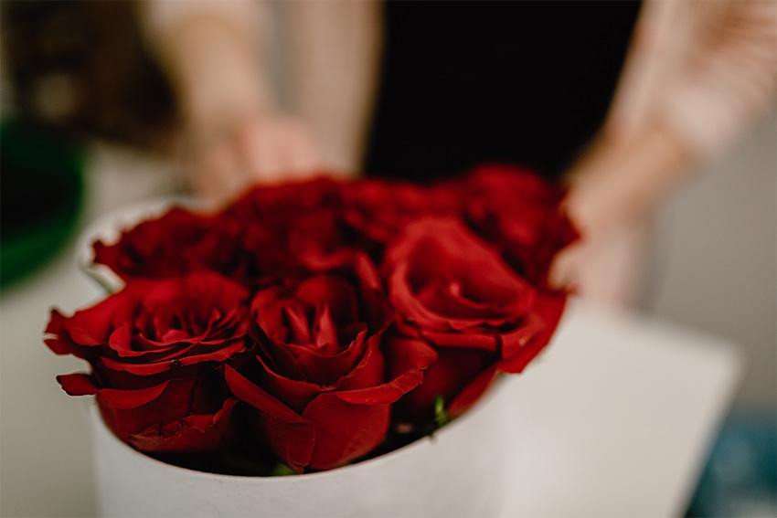 記念日の花をプリザーブドフラワーにする