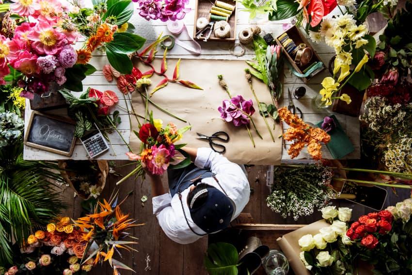 オーダーメイドの花束を贈ろう