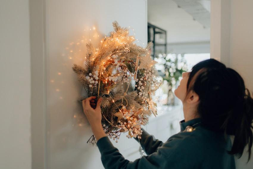 玄関でのおすすめの花の飾り方