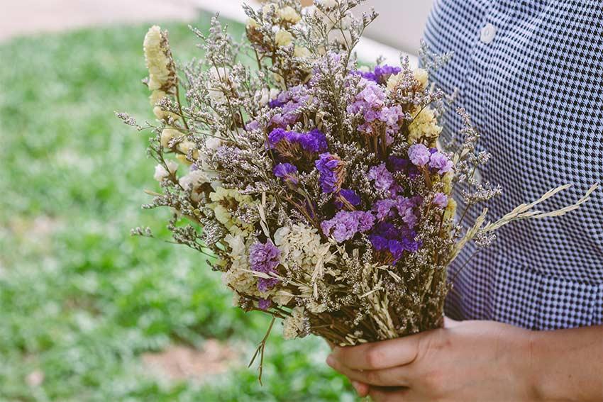 方角と相性の良い花の色を選ぶ