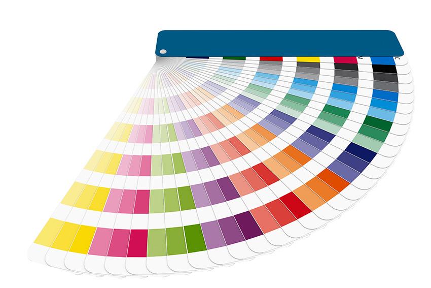色彩や配色のテクニックが身に付く