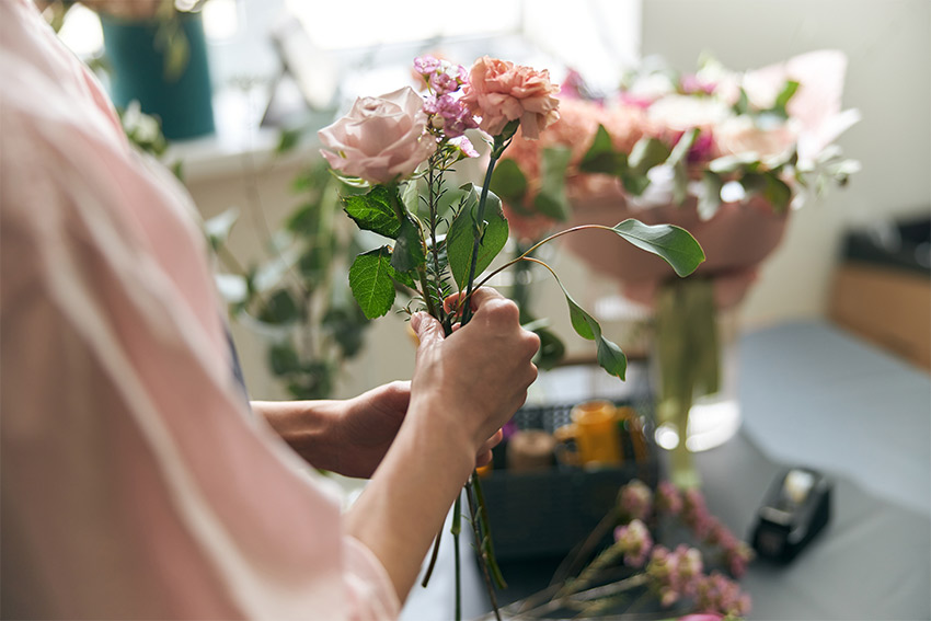 花を扱う習い事にはどんなものがある?