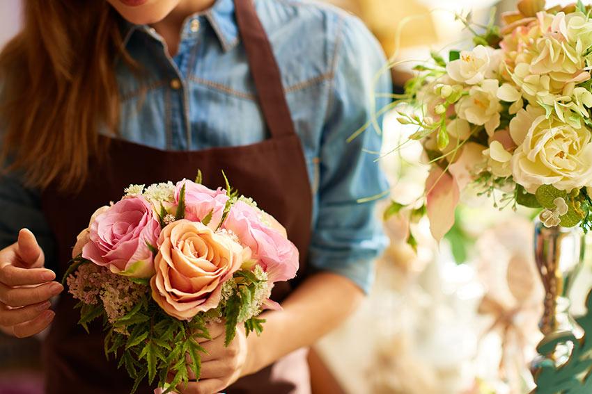 花束とフラワーアレンジメントの違い